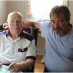 Tom Dufton and his dad, Jim